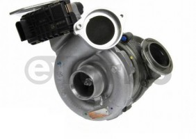 Turbo pro BMW 525xd 3.0,r.v. 07- ,173KW, 758351-5024