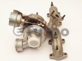 !REPAS! Turbo pro Škoda Octavia I 1.9 TDi ,r.v. 01-04 ,74KW, 54399880018R