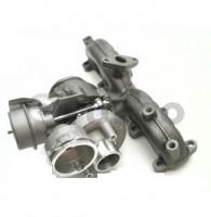 !REPAS! Turbo pro Škoda Octavia II,VW Borg Warner! 1.9 TDi,r.v. 04- ,77KW, 54399880022R